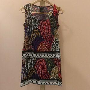 Fun Printed Sleeveless Dress